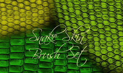 Скачать Snake Skin Brush Set