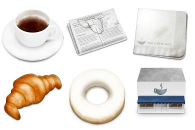 Скачать Coffee Shop Icons