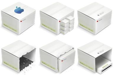Скачать Lcd Boxes Icons
