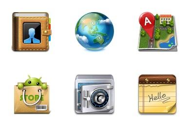 Скачать Android Icons