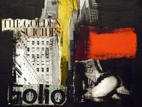 Красно-черно-белый гранж в исполнении испанского художника Mario Corea