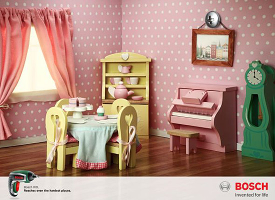 Перейти на Bosch Ixo: Doll House