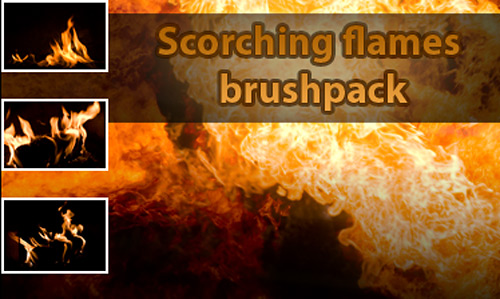 Скачать Scorching Flames Brushpack