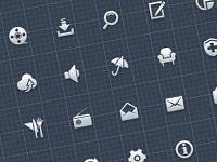 Скачать бесплатно минималистические иконки для дизайнеров и разработчиков