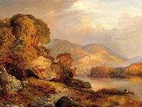 Скалистые горы Дикого Запада на вдохновенных пейзажах Томаса Морана