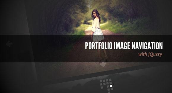 Посмотреть урок Навигация по картинкам в портфолио
