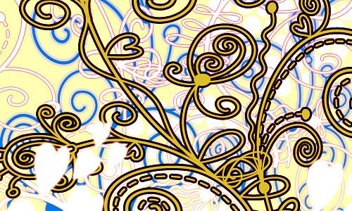 Скачать Flowers and Swirls PS Brushes