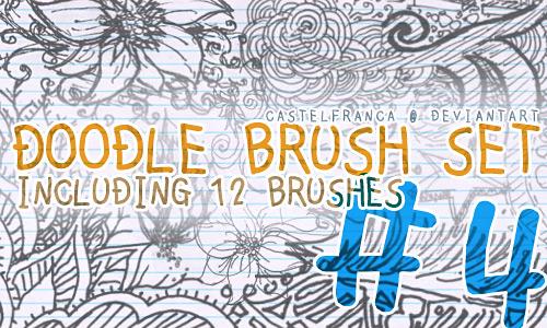 Скачать Doodle Brush Set 4