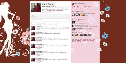 Перейти на @KaraBoney