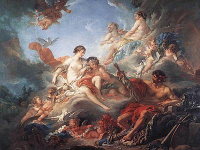 Чувственные картины придворного живописца Франсуа Буше