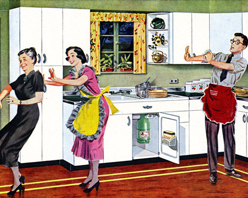Youngstown Steel Kitchens by Mullins, 1949