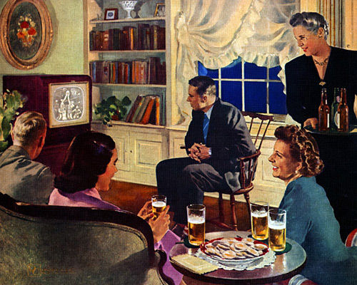 Television Party, 1949