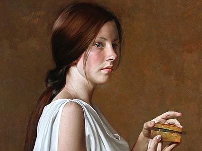 Трехмерное творчество классического художника Уильяма Уитакера