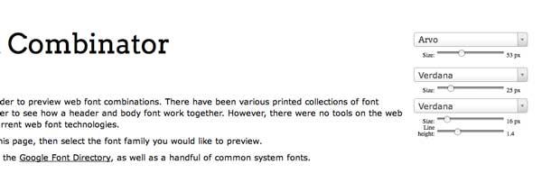 Перейти на The Web Font Combinator