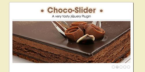 Перейти на Choco Slider