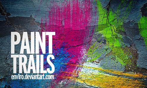 Скачать Paint Trails brushes