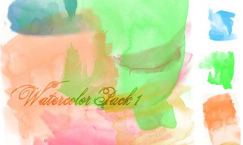 Скачать Watercolor Brush Pack 1