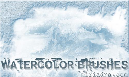 Скачать Watercolor brushes