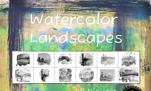 Скачать Watercolor Landscapes