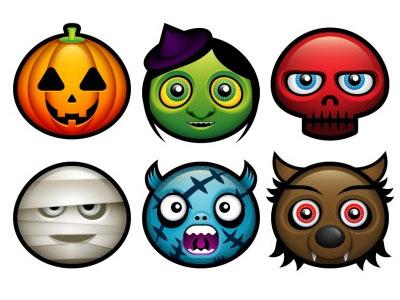 Скачать Halloween Avatars Icons By Deleket