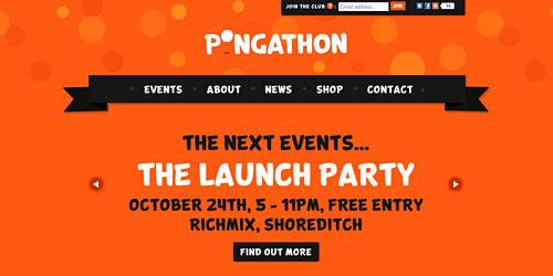 Перейти на Pongathon