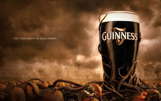 Перейти на Guinness The True Brew Of Halloween