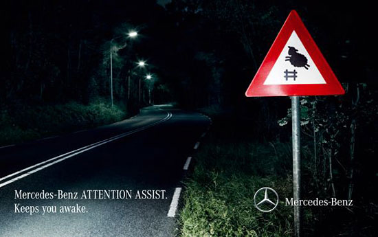 Перейти на Mercedesbenz Attention Assist