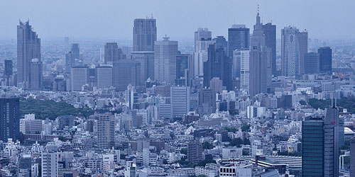 Скачать Buildings in Shinjuku