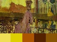 20 готовых цветовых палитр с вдохновенных картин Константина Сомова
