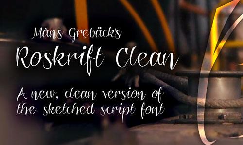 Roskrift Clean
