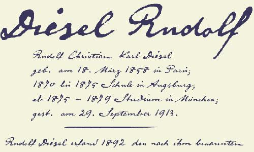 Diesel Rudolf