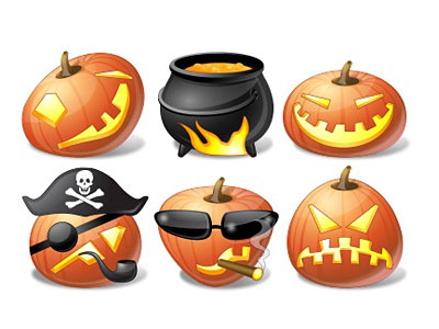 Скачать Vista Halloween Icons