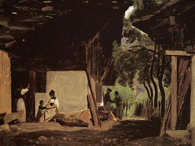 Перламутровые зарисовки и эскизы художника Жан-Батиста Коро