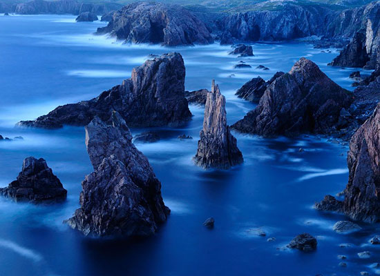 Перейти на Sea Stacks, Outer Hebrides