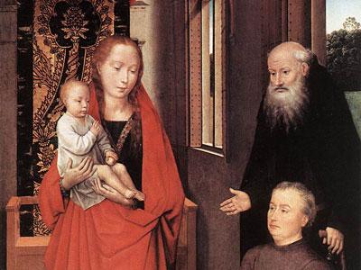 Средневековые реалии от фламандского художника Ганса Мемлинга