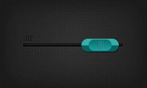 Создаем в фотошопе пользовательский интерфейс аудио слайдера