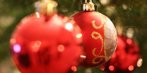 Скачать Stacked Christmas Balls
