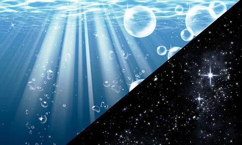 Скачать Space Water Brushes 176224923