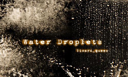 Скачать Water Dropplets Brush
