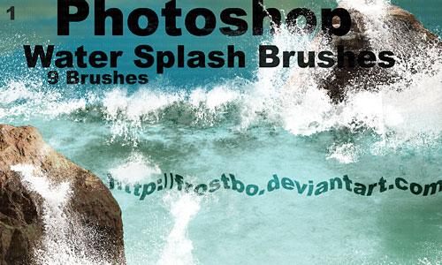 Скачать Water Splash Brushes