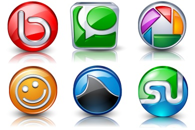 Скачать High Detail Social Icons By Iconshock