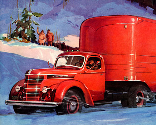 1939 International Harvester heavy-duty trucks