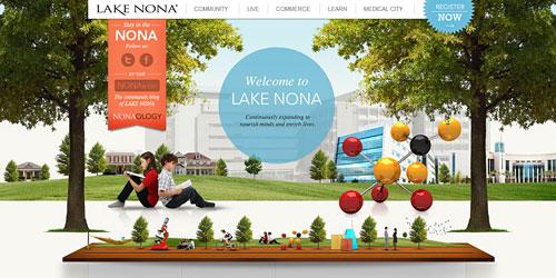 Перейти на Learn Lake Nona