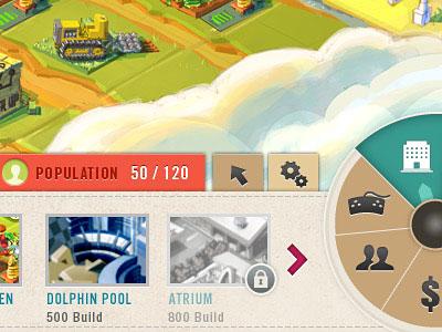 Перейти на Game UI