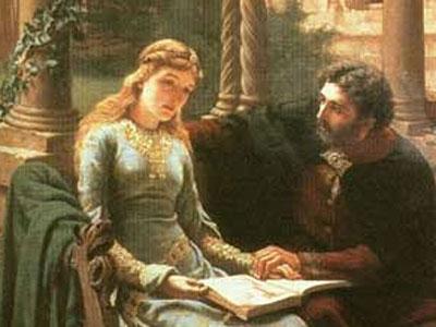 Abaelard und seine Schulerin Heloisa