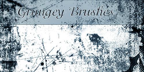 Скачать Grungey Brushes