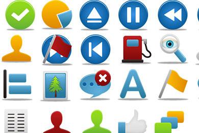 Скачать Pretty Office Icon Set Part 8
