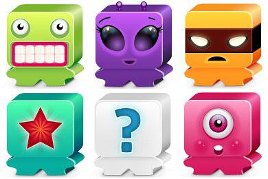 Скачать Favorite Monsters Icons