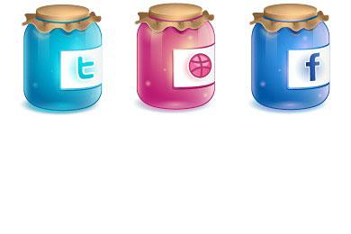 Скачать Twitter Jar Icons