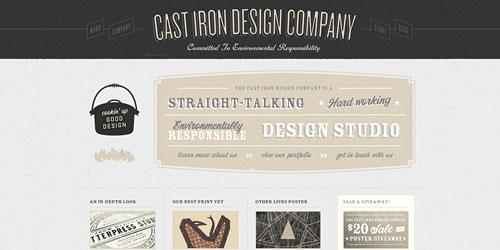 Перейти на Cast Iron Design